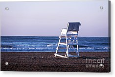 Off Duty Acrylic Print by John Rizzuto