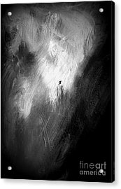 Acrylic Print featuring the painting Off He Goes by Christine Ricker Brandt