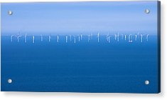 Off-shore Wind Farm Acrylic Print by Jane McIlroy
