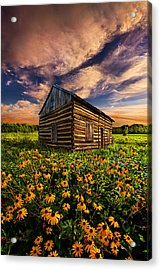 Off The Grid Acrylic Print