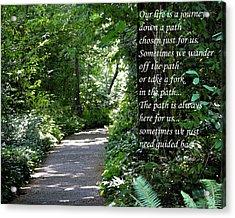 Off The Path Acrylic Print