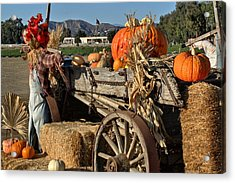 Acrylic Print featuring the photograph Off To Market by Michael Gordon