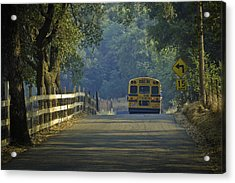 Off To School Acrylic Print