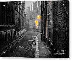 Off To Work Acrylic Print by David Warrington
