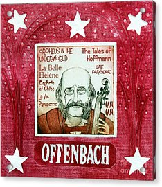 Offenbach Acrylic Print by Paul Helm