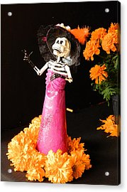Offering For The Dead Acrylic Print by Sergio Diaz