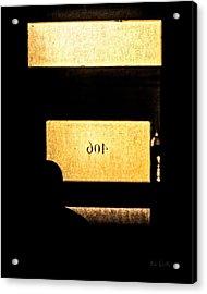 Office 406 Acrylic Print by Bob Orsillo