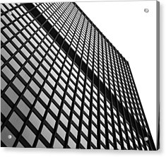 Office Building Facade Acrylic Print by Valentino Visentini