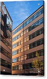 Office Building Malmo Acrylic Print by Antony McAulay
