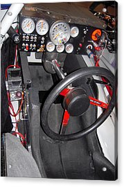 Office For A Race Driver Acrylic Print
