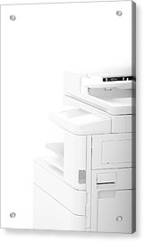Office Multifunction Printer Acrylic Print by Frank Gaertner