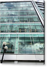 Office View Acrylic Print by Dan Sproul