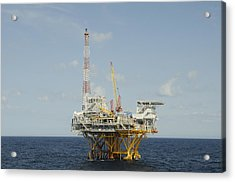 Offshore Natural Gas Platform Acrylic Print