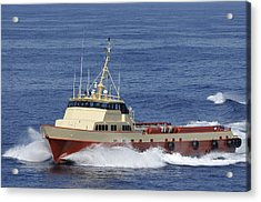 Offshore Supply Vessel Acrylic Print
