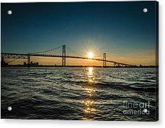 Ogdensburg Prescott Intl Bridge Acrylic Print
