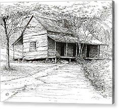 Ogle's Back Porch Acrylic Print
