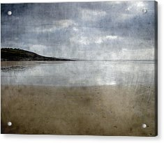 Ogmore Beach Acrylic Print by Kevin Round