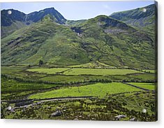 Ogwen Valley Wales Acrylic Print by Jane McIlroy