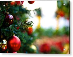 Oh Christmas Tree Acrylic Print by JM Photography