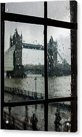 Oh So London Acrylic Print