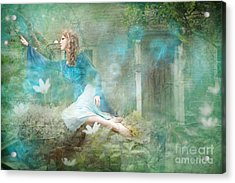Oh Spring Oh Where Are You Acrylic Print by Angel  Tarantella