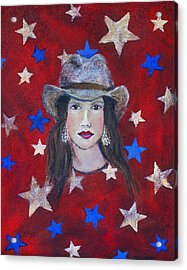 Oh Suzannah Acrylic Print by The Art With A Heart By Charlotte Phillips