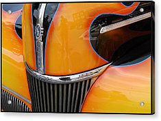 Oh That V8 Smile Acrylic Print by Ellen Tully
