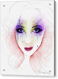 Oh Those Eyes Acrylic Print