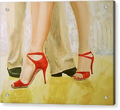 Oh Those Red Shoes Acrylic Print
