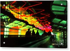 O'hare Airport Acrylic Print by Jeff Breiman