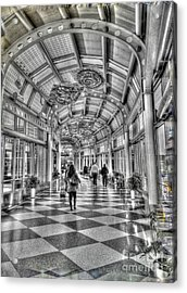 Ohare Terminal Two Acrylic Print by David Bearden