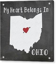 Ohio Acrylic Print by Jo Moulton
