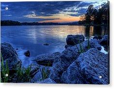 Ohio Spring Sunset Acrylic Print