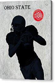Ohio State Football Acrylic Print by David Dehner