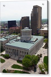 Ohio Statehouse Acrylic Print by Sanford