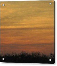 Ohio Sunset Acrylic Print