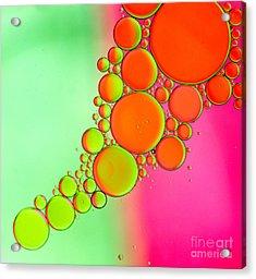 Oil 5 Acrylic Print