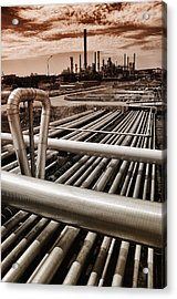 Oil And Gas Industry Acrylic Print