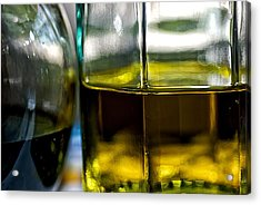 Oil And Vinegar 1 Acrylic Print by Guillermo Hakim