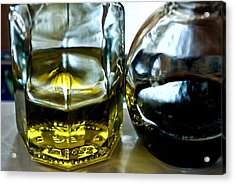 Oil And Vinegar 2 Acrylic Print by Guillermo Hakim