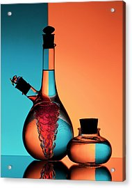 Oil And Vinegar Acrylic Print by Aida Ianeva