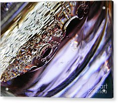Oil And Water 29 Acrylic Print by Sarah Loft