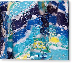 Oil And Water Acrylic Print