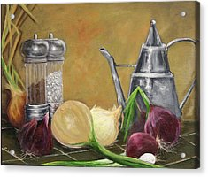 Oil Can Still Life Acrylic Print