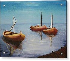 Oil Msc 023  Acrylic Print
