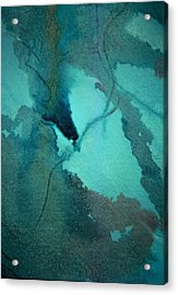 Oil Spill Deep Within The Heart Of The Gulf Acrylic Print