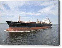 Oil Tanker Acrylic Print