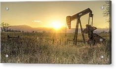 Oil Well Pump Acrylic Print