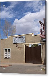 Acrylic Print featuring the photograph Ok Corral Tombstone Az Usa by Bob Pardue