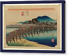 Okazaki, Ando Between 1833 And 1836, Printed Later Acrylic Print